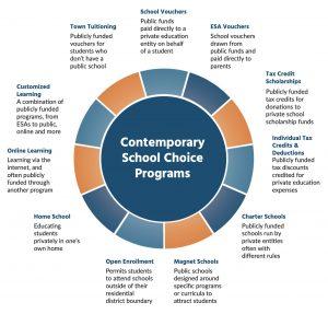 Contemporary School Choice Options