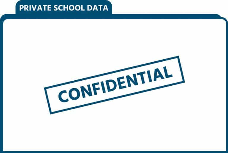 Private School Data Folder - Confidential