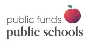 Public Funds Public Schools logo